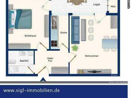 2 Zimmer - Wohnung-ca. 62,14 qm-!