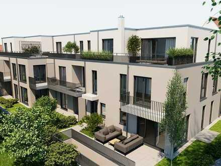 ROHBAU FERTIGGESTELLT! Ideal für junge Familien! Stadthaus mit 3-Zimmern & Hobbyraum