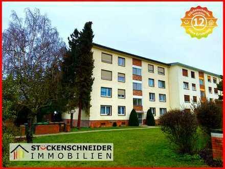 Große 4-Zimmer-Wohnung mit BALKON und GARAGE! Gute Lage in DÖRNIGHEIM! www.isi-wohnen.de