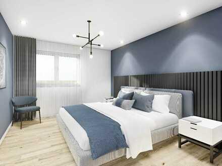 4-Zimmer-Wohntraum mit 180° Dachterrasse auf ca. 124 m². Ideal für Familien
