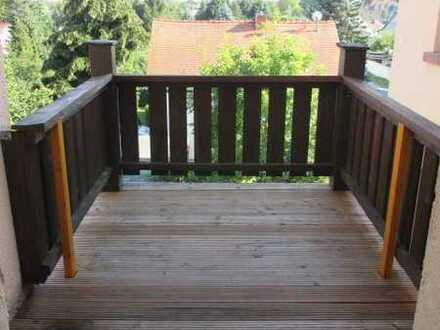 3 RW mit Balkon und Blick in grüne Hinterhöfe