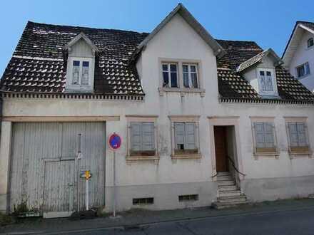 Sanierungsbedürftiges & denkmalgeschütztes Bauerngehöft mit Wohnhaus und Scheune