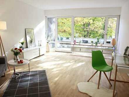 helles 1 Zimmer Appartement mit Blick ins Grüne