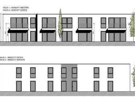 2 Mehrfamilienhäuser mit jeweils 8 Eigentumswohnungen in neuer Wohnanlage