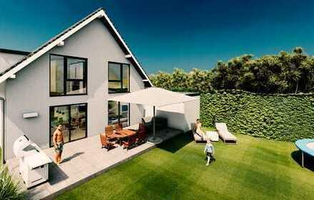 frei planbares Einfamilienhaus in moderner Architektur / Neubau + Garage (ca.130m² schlüsselfertig)