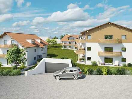Neubau 3-Zimmerwohnung mit Gartenanteil in Aitrang