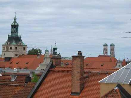 absolute Rarität im Lehel - exklusiver Dachterrassentraum mit Einliegerwohnung