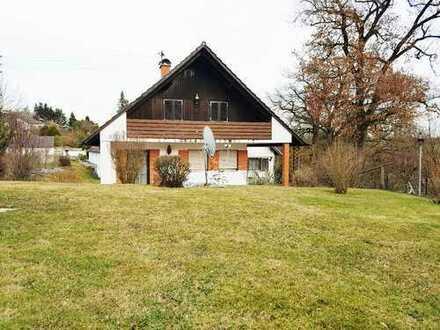 Für Naturliebhaber! – möbliertes Haus mit großem Hanggrundstück zu vermieten!