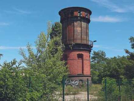 Grundstück mit ehemaligem Wasserturm