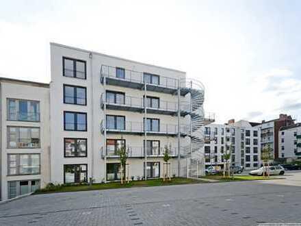 Neubau-Wohnung in Innenhoflage