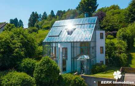 BERK Immobilien - Architektonisches Meisterwerk für besondere Ansprüche - das Haus im Glashaus!