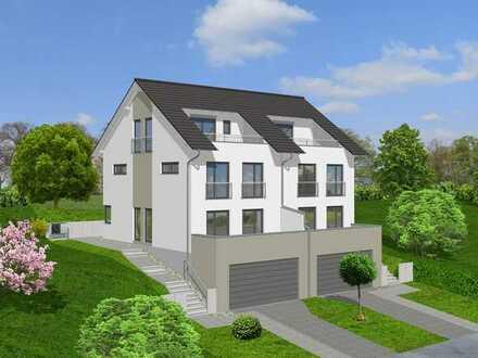 Neubau eines Doppelhauses in Bad Bellingen