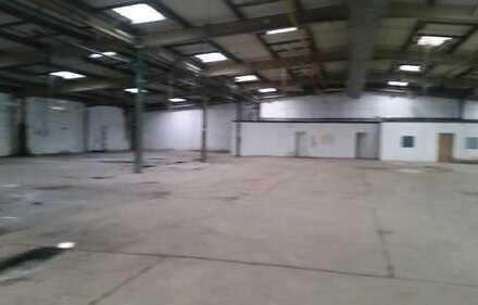 Lagerhalle mit Freifläche geeignet für Indoorspiele, Fitnesstudio ect.