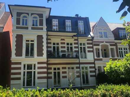 Luxuriöse Penthouse-Wohnung ( 4 Zi., 2 Balkone) im Zentrum Münsters