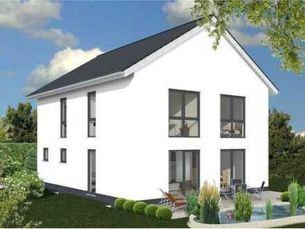 **Ihr neues Zuhause -massiv gebaut mit einem herrlichen Blick ins Grüne!**