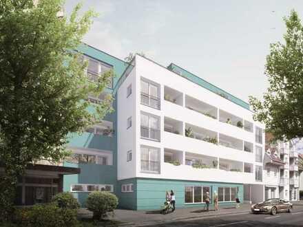 Betreutes Wohnen - Erstbezug mit EBK und Balkon: attraktive 1-Zimmer-Wohnung in Singen (Hohentwiel)