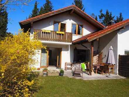 Möblierte Doppelhaushälfte in Bestlage von Gräfelfing, Landkreis München. Befristet auf 2 Jahre
