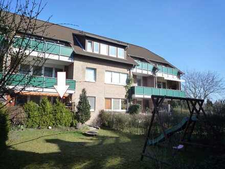 3-Zimmerwohnung im Erdgeschoss mit eigenem Garten!