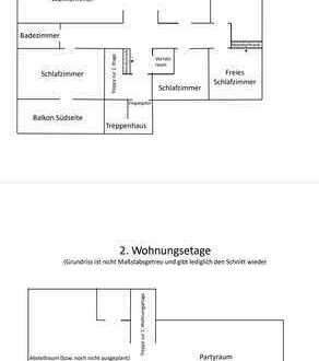 WG-Zimmer frei im Stadtzentrum***3erWG in 160qm Wohnung mit Balkon an Nord- und Südseite in TOP Lage