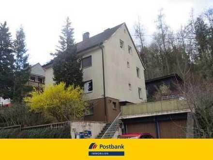Wir bieten an - Mehrfamilienhaus mit vier Wohneinheiten am Waldrand
