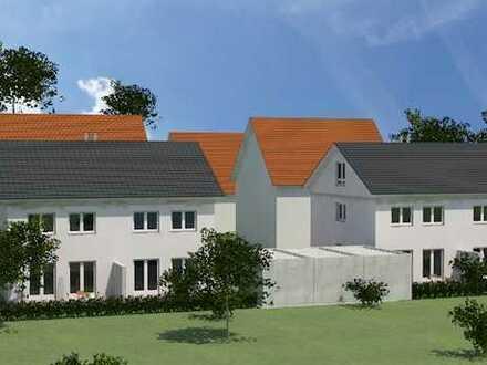 Schöne Doppelhaushälfte mit Garten, Terrasse und Hobbyraum in Königsbrunn - NEUBAU