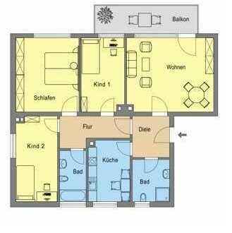 4-Zimmer Wohnung in Ratingen Hösel