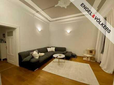 Sanierte Vier-Zimmer-Wohnung in Mitte