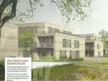 Neubau/Erstbezug: Helle 3-Zimmer Wohnung in Bocholt Stadtmitte inkl. Tiefgaragenstellplatz