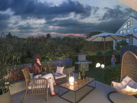 Tolle 5-Zi. Gartenwohnung mit Terrasse
