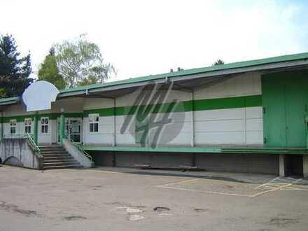 SOFORT VERFÜGBAR ✓ RAMPE ✓ Lagerflächen (800 m²) & Büroflächen (300 m²) zu vermieten