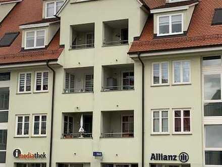 Modernisierte 4 Raum-Maisonette-Wohnung mit Balkon und Einbauküche in Munderkingen