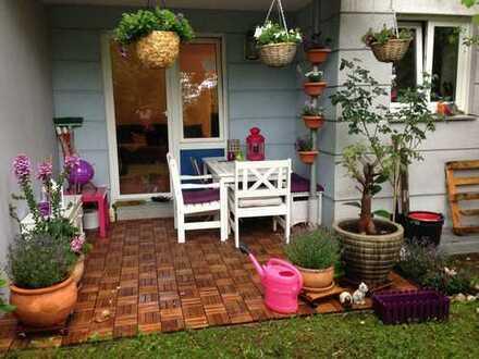 Moderne Gartenwohnung mit 30 m² Hobbyraum