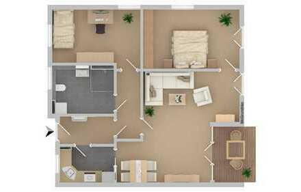 ***Reserviert***Wohnpark am Wasserturm Zeitgemäße Wohnformen - 3 Zimmerwohnung mit Terrasse - barri