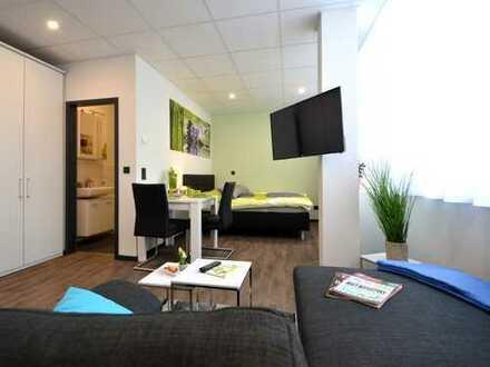 1-Zimmer-Business-Apartment im Zentrum von Offenbach nahe der Fußgängerzone - Erstbezug!