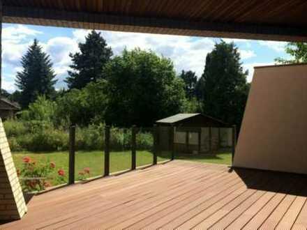 Wohnen und Arbeiten unter einem Dach mit eigenem Garten wie im Einfamilienhaus