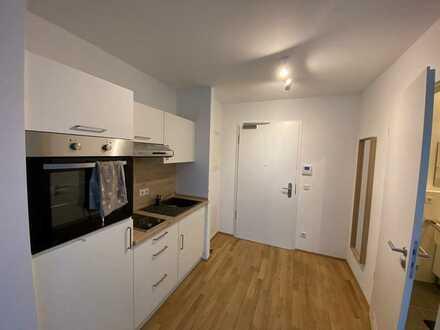 Helles Neubau-Apartment mit Küche, Parkplatz in toller Lage ohne Provision