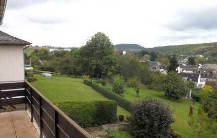 Schöne Wohnung mit Blick über das Tal!