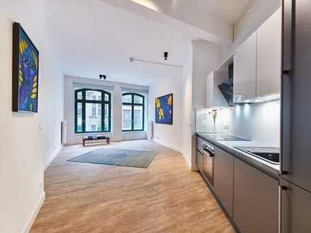 +++ möbliertes Apartment mitten in der City - 3 Gehminuten vom Bahnhof +++
