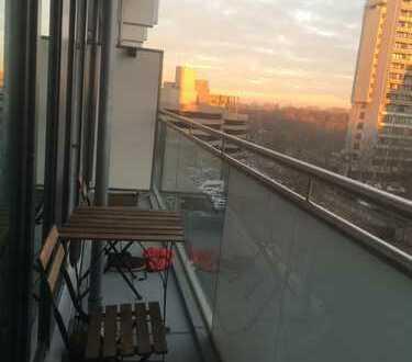 Wunderschöne 2-Zimmer Wohnung mit Balkon und toller Aussicht