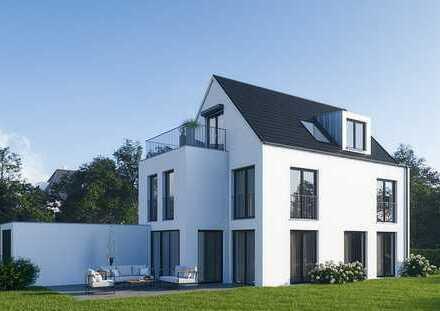 Neubau Einfamilienhaus, Rohbau fertiggestellt