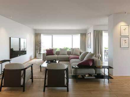 187 m² Wohnfläche mit 19 m² Dachterrasse und Süd-West-Loggia!
