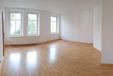 Tolle 1-Raumwohnung mit großem Wohnraum im 1.OG!!! + Laminatboden + Einbauküche + abgetrennter Flur
