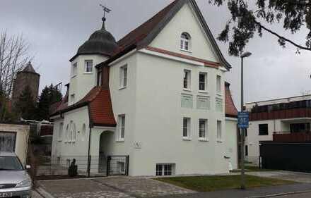 Erstbezug: schöne 4-Zimmer-Hochparterre-Wohnung mit Einbauküche und Balkon in Memmingen