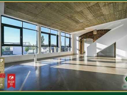 Penthouse-Maisonette Wohnung mit Loftcharakter & großer Dachterrasse,Teilgewerbliche Nutzung möglich