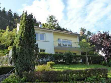 Vollständig renovierte 3-Zimmer-EG-Wohnung mit Terrrasse und EBK stadtnah in Hornberg