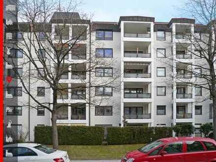 Attraktive 3-Zimmer-Erdgeschosswohnung mit Gartenanteil und Tiefgarageneinzelstellplatz