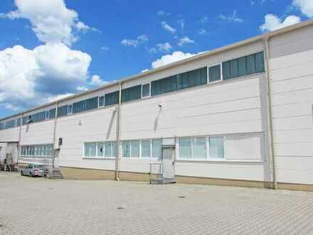 Gewerbehalle auf großem Grundstück im BAB-Autohof!
