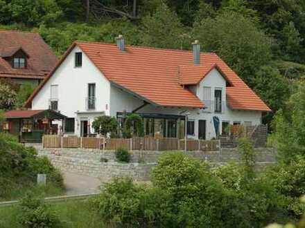 Schöne Wohnung /Doppelhaushälfte mit sechs Zimmern (Wohneinheit grün mit 157qm) in 93346 Ihrlerstein