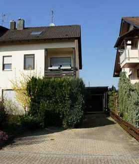 Große Doppelhaushälfte in ruhiger Lage in Ittersbach zu verkaufen