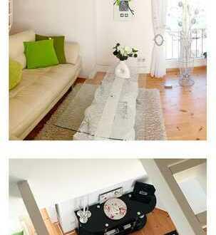 Exklusive, gepflegte 3-Zimmer-Dachgeschosswohnung mit Balkon und Einbauküche in Bad Saarow